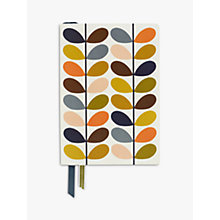 Buy Orla Kiely A5 Multi Stem Notebook Online at johnlewis.com