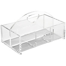 Buy Osco Acrylic Basket Tidy Online at johnlewis.com