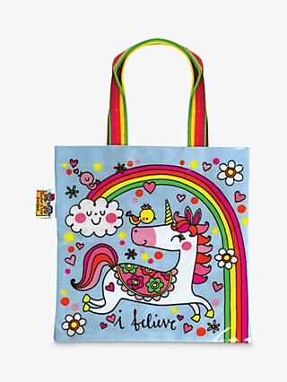 Rachel Ellen Unicorn Mini Tote Bag