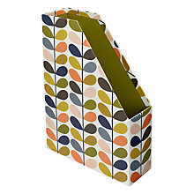 Buy Orla Kiely Magazine File, Multi Online at johnlewis.com