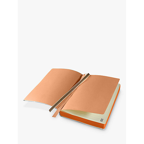 Buy Orla Kiely A5 Navy Stem Notebook Online at johnlewis.com