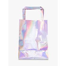 Buy Ginger Ray Iridescent Party Bags, Pack of 5 Online at johnlewis.com