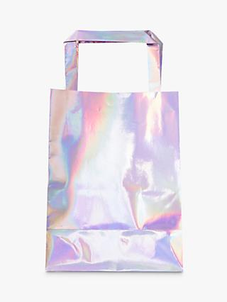 Ginger Ray Iridescent Party Bags, Pack of 5