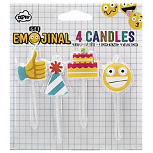 Buy Emojinal Candles, Pack of 4 Online at johnlewis.com