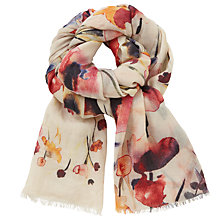 Buy John Lewis Poppy Meadow Scarf, Multi Online at johnlewis.com