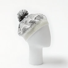 Buy John Lewis Ombre Dotty Pom Beret, Grey Online at johnlewis.com
