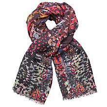 Buy John Lewis Abstract Brushstroke Scarf, Multi Online at johnlewis.com
