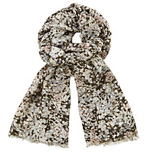 Buy John Lewis Blossom Ditsy Print Scarf, Multi Online at johnlewis.com