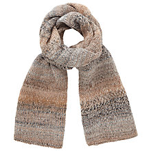 Buy John Lewis Glitter Yarn Scarf, Teal Online at johnlewis.com