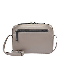 Buy Jaeger Zip Top Leather Camera Bag Online at johnlewis.com