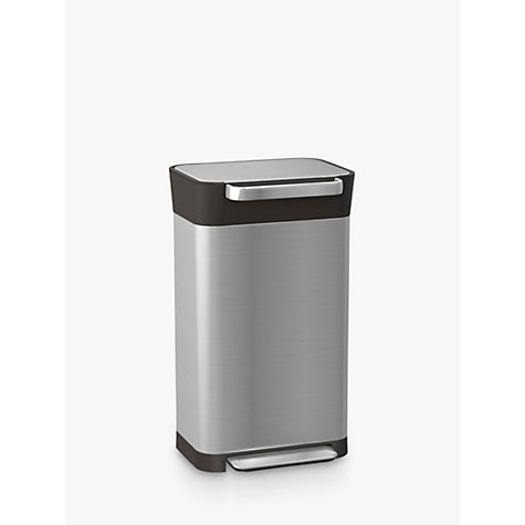 buy joseph joseph titan compactor bin 30l john lewis. Black Bedroom Furniture Sets. Home Design Ideas