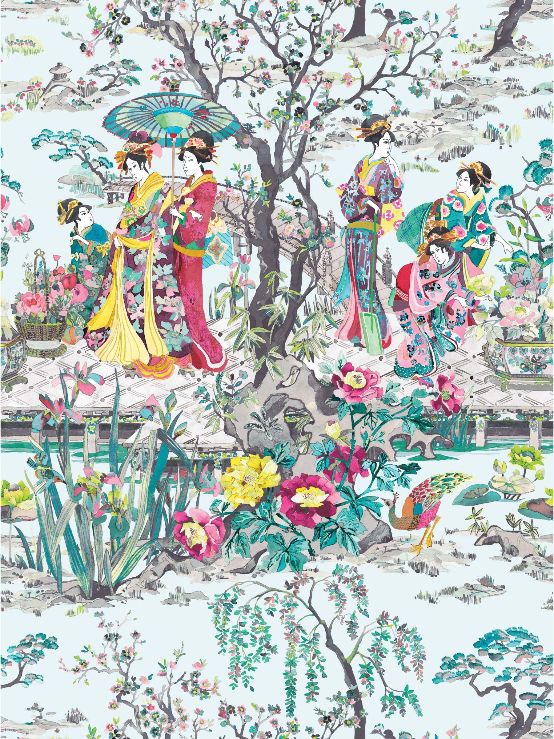 Osborne & Little Osborne & Little Japanese Garden Wallpaper