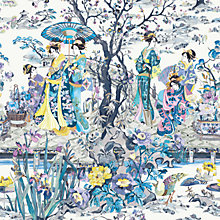 Buy Osborne & Little Japanese Garden Wallpaper Online at johnlewis.com