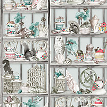 Buy Osborne & Little Curio Wallpaper, W7028-01 Online at johnlewis.com