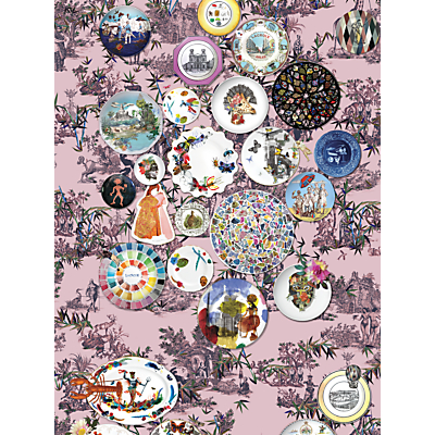 Christian Lacroix Folie Wallpaper Panel Set, Myrtille PCL1002/01