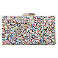 Buy Dune Bonansa Beaded Clutch Bag, Multi Online at johnlewis.com