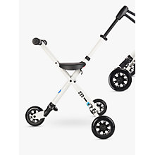 Buy Micro Trike, 18 months+, White/Black Online at johnlewis.com