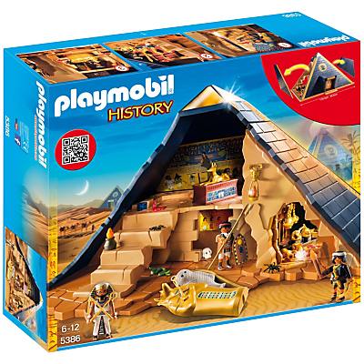 Click here for Playmobil History Pharaohs Pyramid