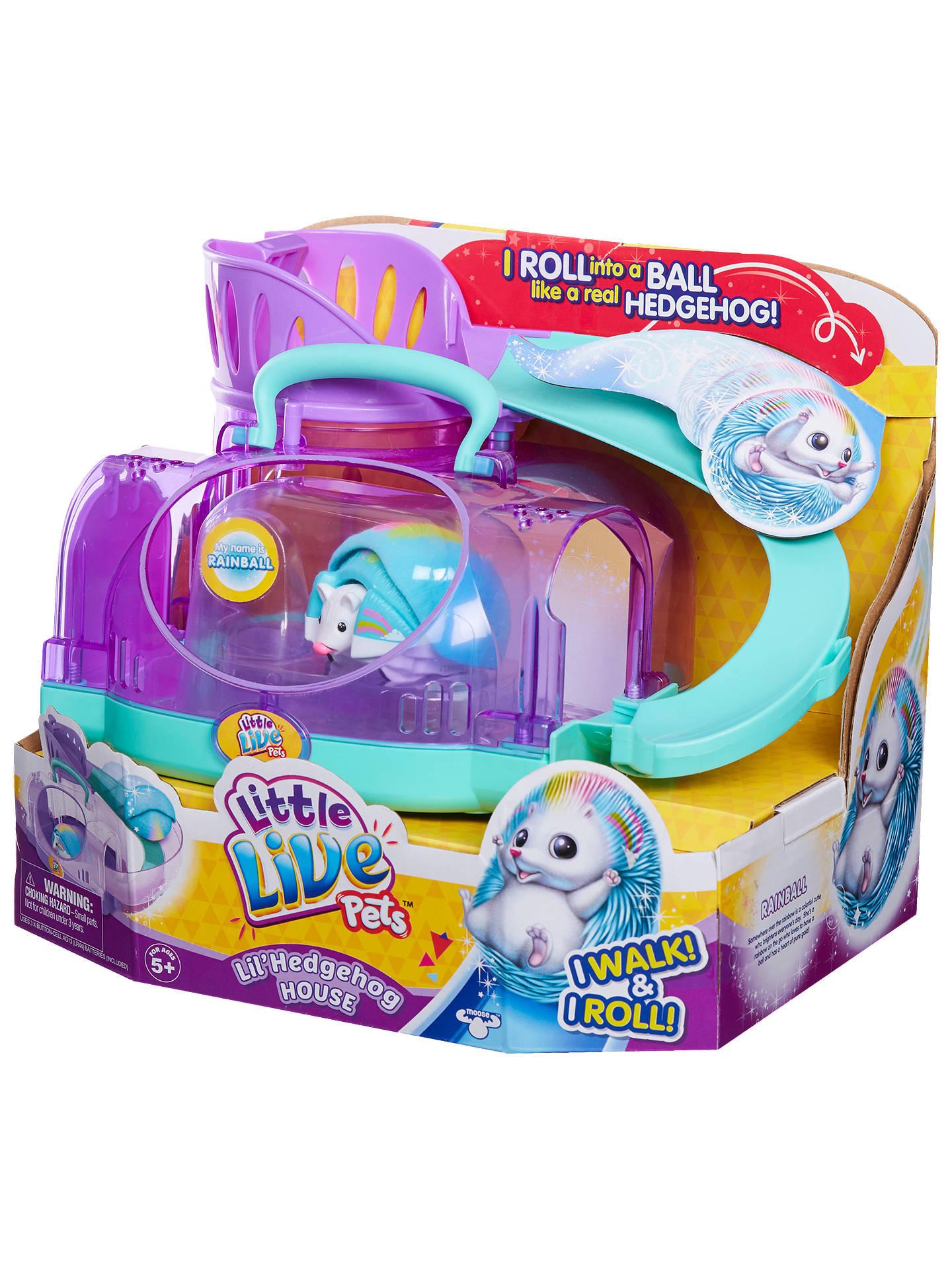32af8f1aa562 Buy Little Live Pets Lil' Hedgehog House Online at johnlewis. ...