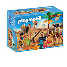 Buy Playmobil History Tomb Raiders Camp Online at johnlewis.com