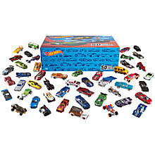 Buy Hot Wheels Cars, Pack of 50, Assorted Online at johnlewis.com