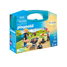 Buy Playmobil Summer Fun Backyard Barbecue Carry Case Online at johnlewis.com