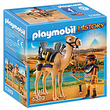 Buy Playmobil History Egyptian Warrior Online at johnlewis.com