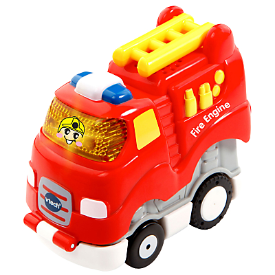 VTech Toot Toot Press and Go Fire Engine