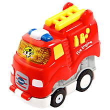 Buy VTech Toot Toot Press and Go Fire Engine Online at johnlewis.com