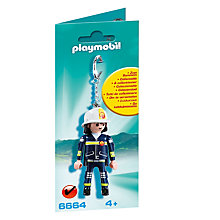 Buy Playmobil Fireman Keyring Online at johnlewis.com