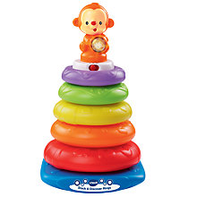 Buy VTech Stack and Discover Rings Baby Toy Online at johnlewis.com