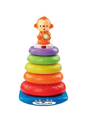 VTech Stack and Discover Rings Baby Toy