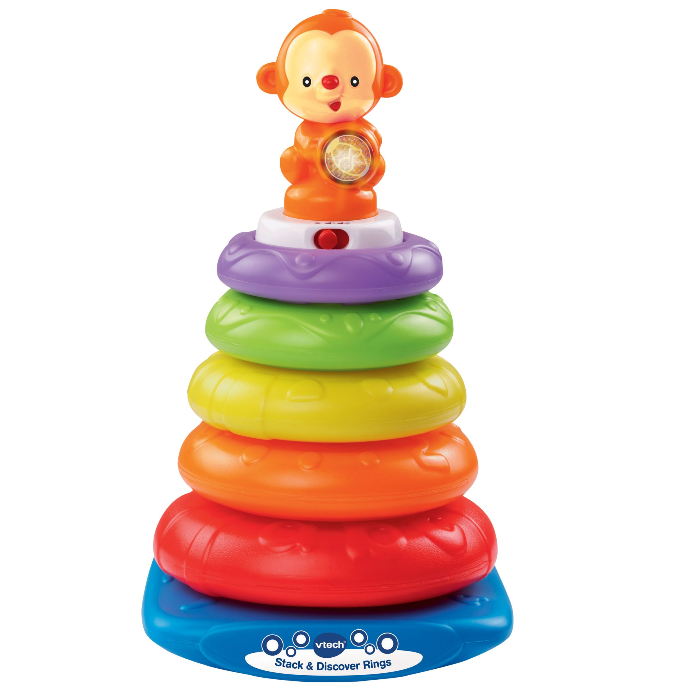 Vtech VTech Stack and Discover Rings Baby Toy