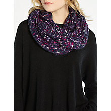 Buy John Lewis Midnight Snood, Purple Online at johnlewis.com