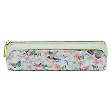 Buy Ted Baker Iriss Entangled Enchantment Pencil Case, Navy Online at johnlewis.com