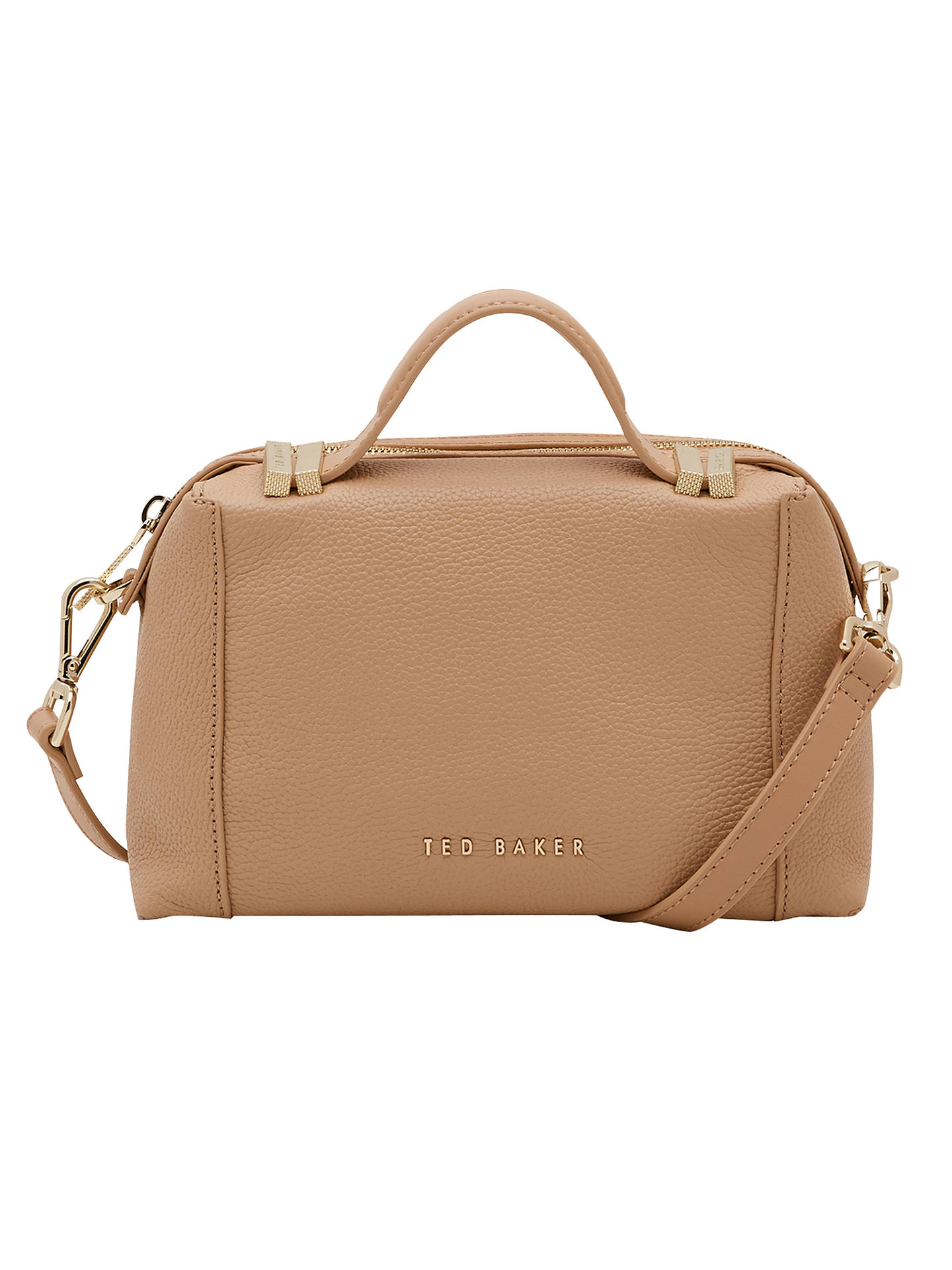 Ted Baker Albett Small Leather Tote Bag At John Lewis Partners
