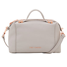 Buy Ted Baker Albett Small Leather Tote Bag Online at johnlewis.com