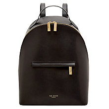 Buy Ted Baker Jarvis Leather Backpack Online at johnlewis.com