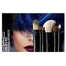 Buy MAC Look In A Box Brush Kit / Advanced Online at johnlewis.com