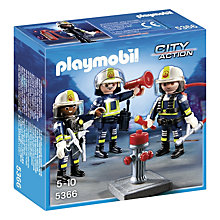 Buy Playmobil City Life Fire Rescue Crew Online at johnlewis.com
