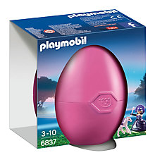 Buy Playmobil Queen Moonbeam with Baby Pegasus Gift Egg Online at johnlewis.com