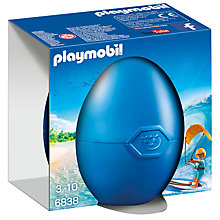 Buy Playmobil Kite Surfer Gift Egg Online at johnlewis.com