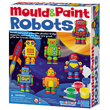 Buy Mould & Paint Robots Kit Online at johnlewis.com