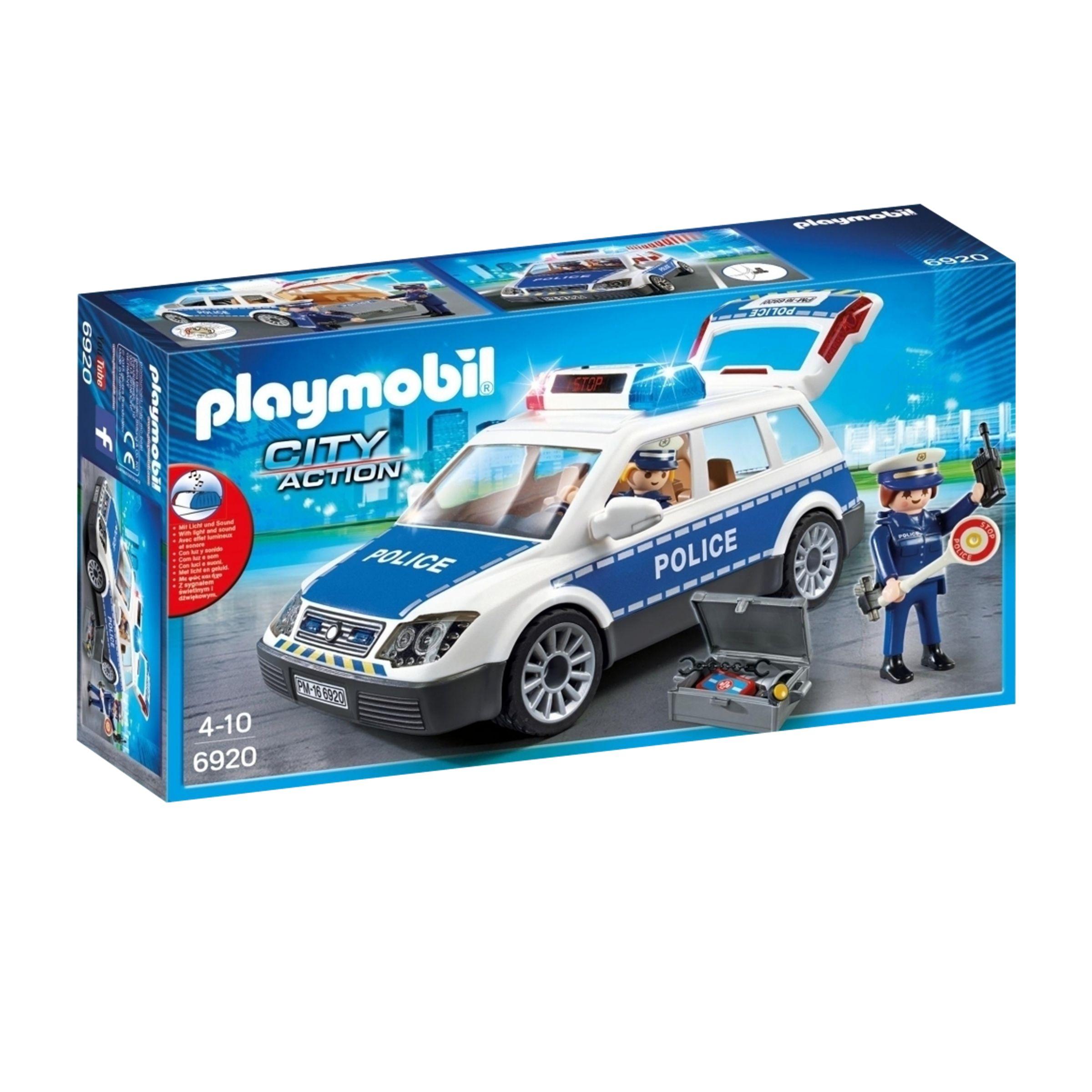 PLAYMOBIL Playmobil City Action Police Squad Car