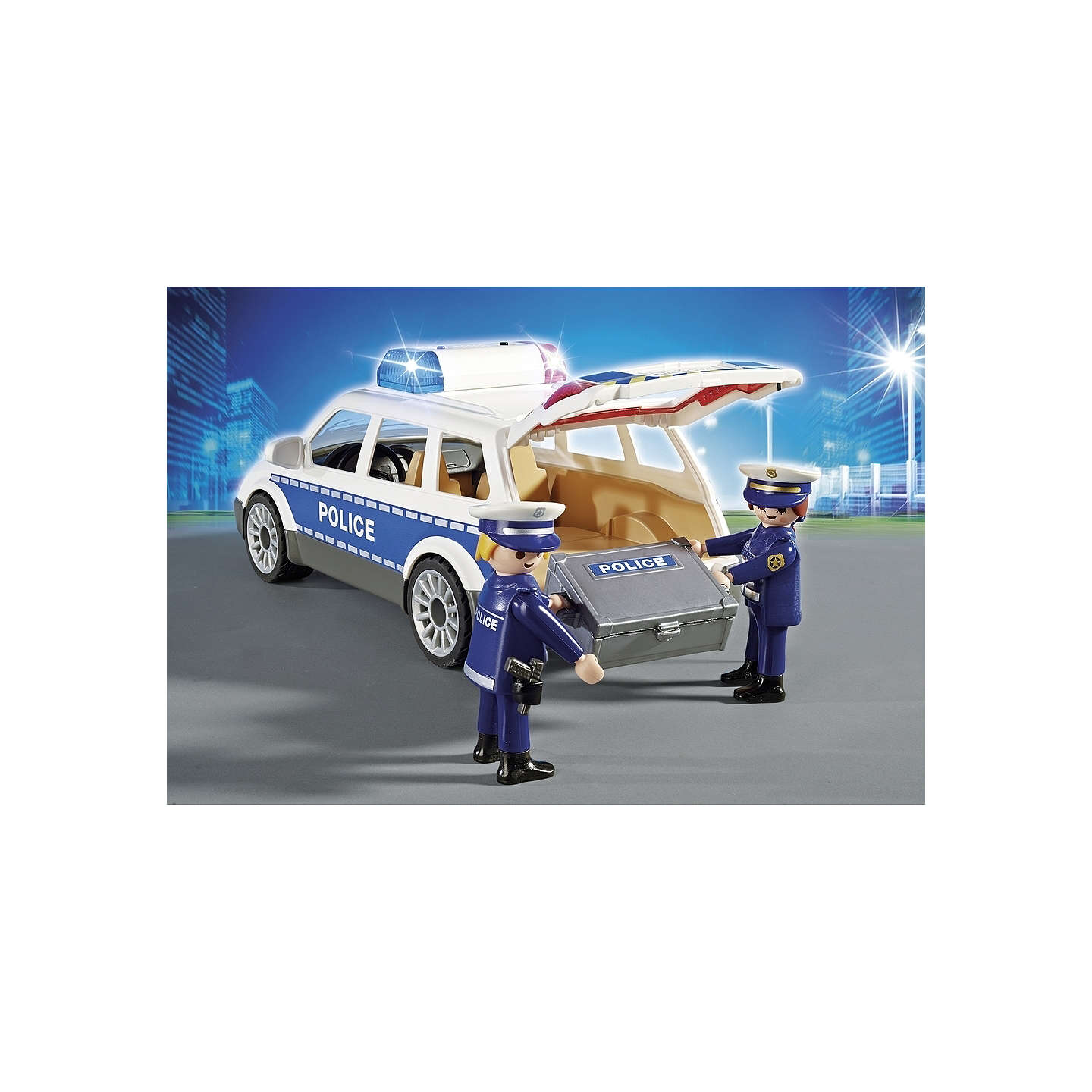 BuyPlaymobil City Action Police Squad Car Online at johnlewis.com