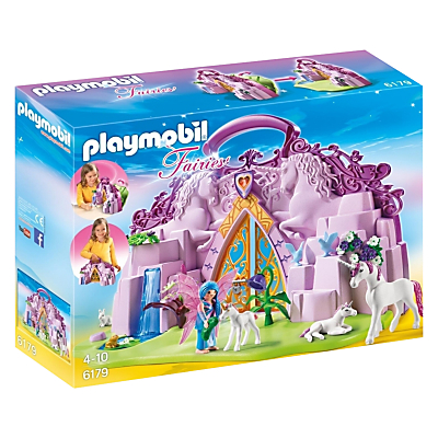 Playmobil Fairies Fairy Unicorn Garden