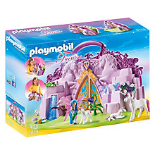 Buy Playmobil Fairies Fairy Unicorn Garden Online at johnlewis.com
