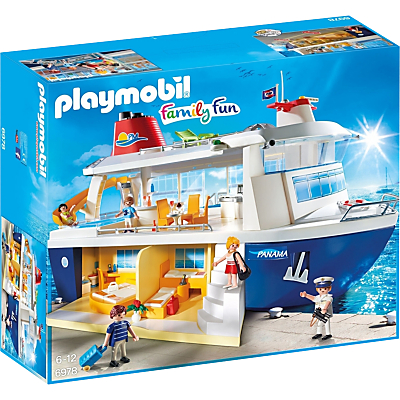 Image of Playmobil Family Fun Cruise Ship
