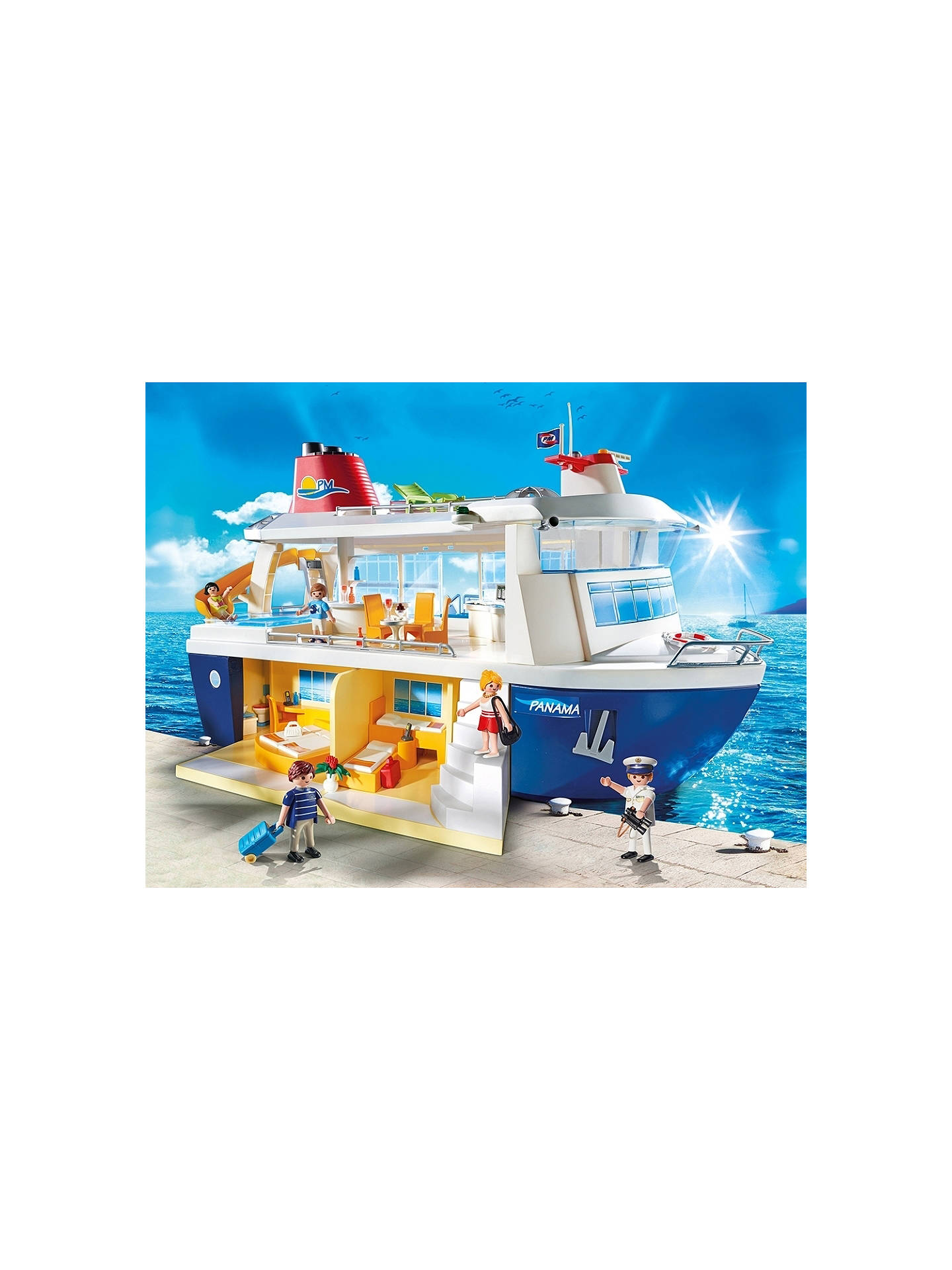 BuyPlaymobil Family Fun Cruise Ship Online at johnlewis.com