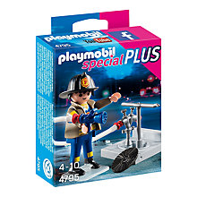 Buy Playmobil Fireman with Hose Online at johnlewis.com